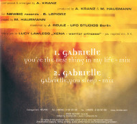 Gabrielle Backcover
