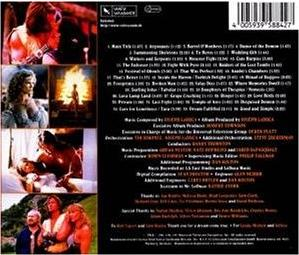 Hercules Soundtrack 2 Backcover