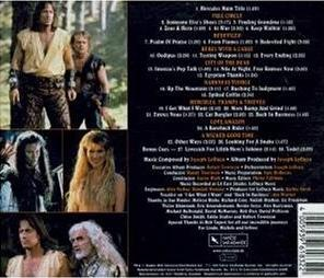 Hercules Soundtrack 4 Backcover