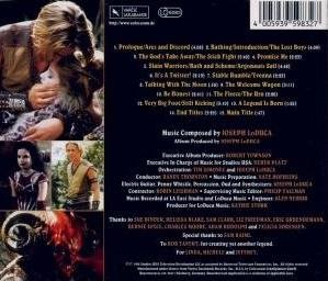 Young Hercules Soundtrack Backcover