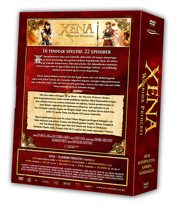 Xena - Warrior Princess - Volume 2 Backcover